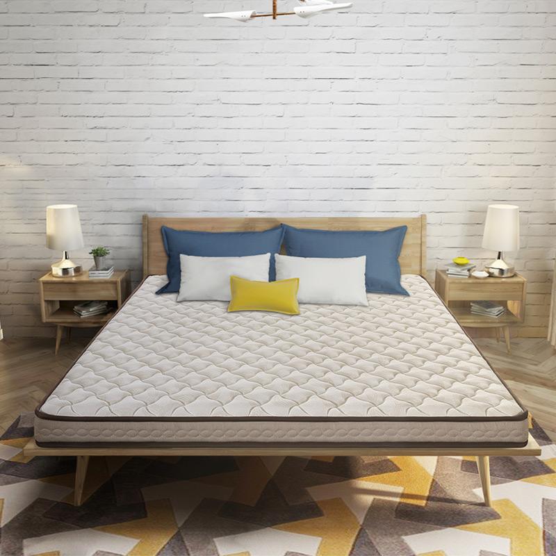 慕思床垫10cm乳胶/椰棕席梦思床垫1.5米薄垫1.8m