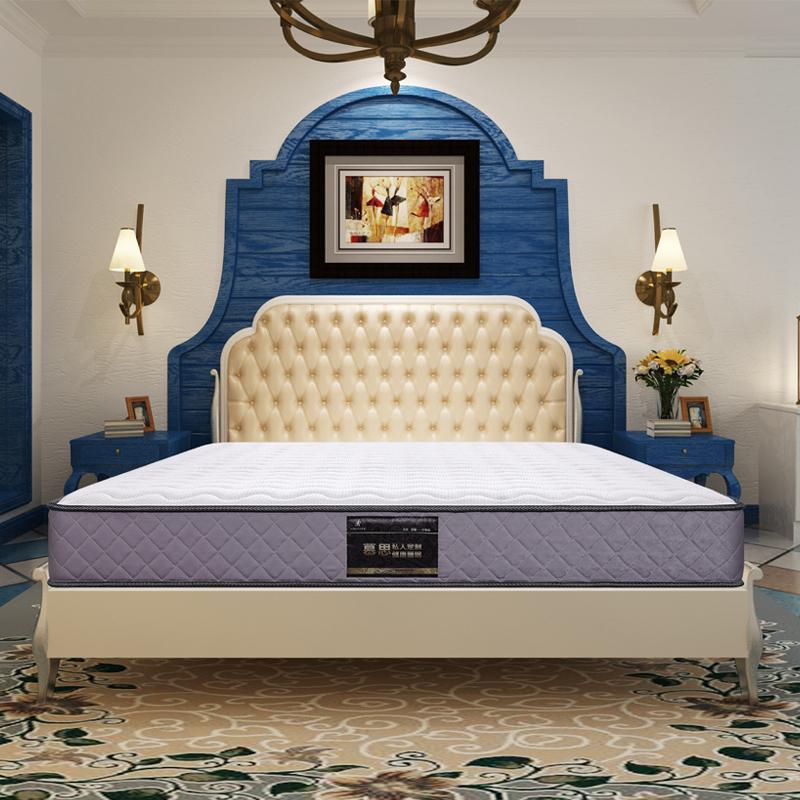 慕思天然乳胶床垫1.8米双人弹簧梦美