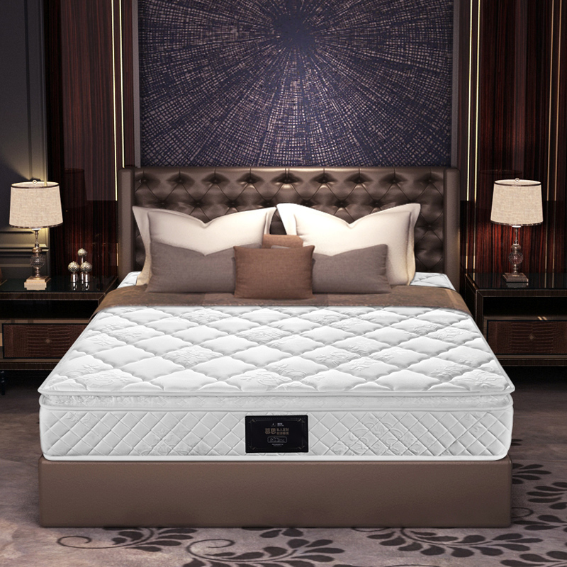 慕思床垫3cm乳胶弹簧席梦思1.8m酒店铂尔曼