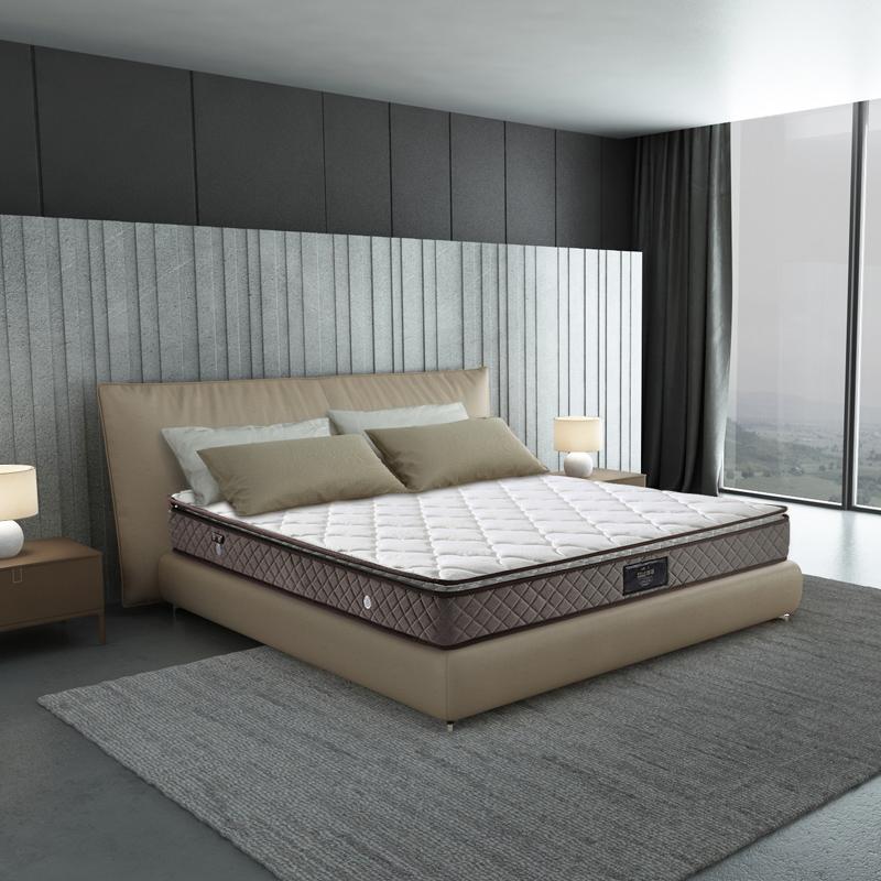 慕思床垫独立筒弹簧助眠床垫智能AI