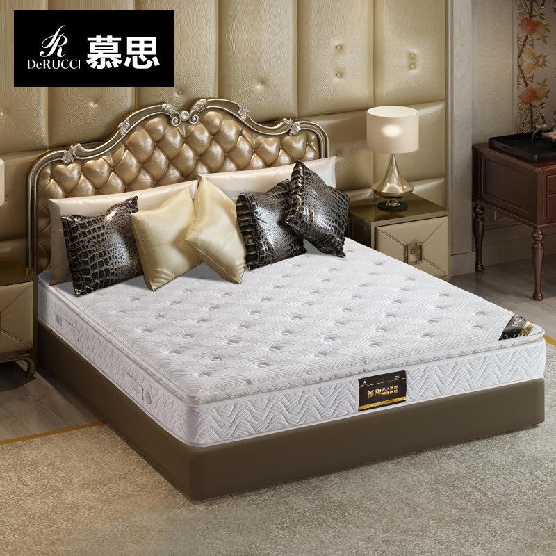 慕思床垫弹簧1.8米软硬两面席梦思尊享版