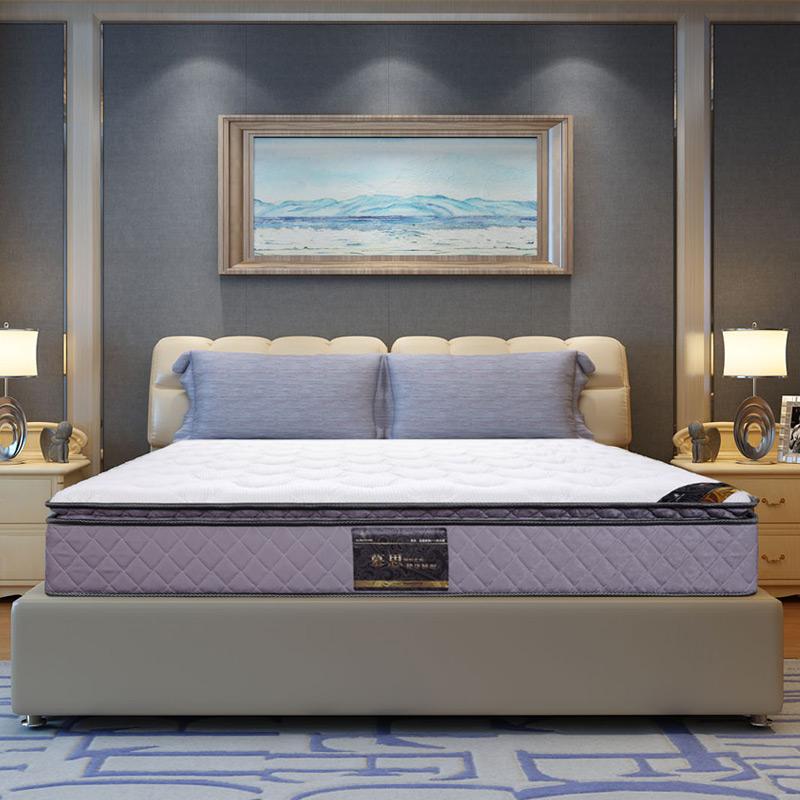 慕思床垫高回弹海棉弹簧席梦思1.5m1.8米梦诗